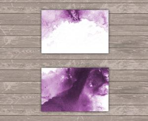 Lilac Sky Platzkarte